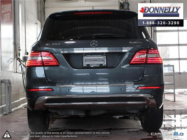 2014 Mercedes-Benz M-Class Base (Stk: CLDR1751AT) in Ottawa - Image 5 of 28