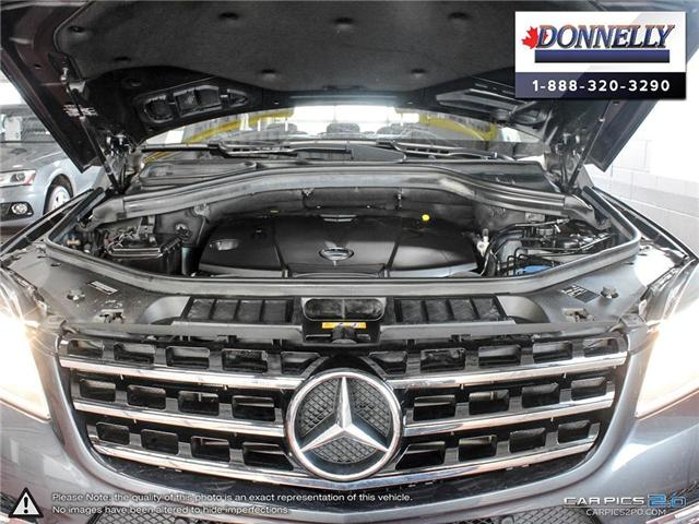 2014 Mercedes-Benz M-Class Base (Stk: CLDR1751AT) in Ottawa - Image 8 of 28