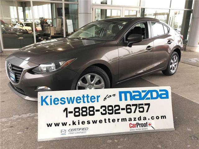 2015 Mazda Mazda3 GX (Stk: U3566) in Kitchener - Image 1 of 26
