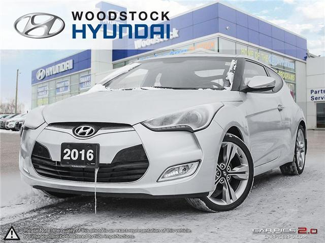2016 Hyundai Veloster Tech (Stk: HD16158) in Woodstock - Image 1 of 27