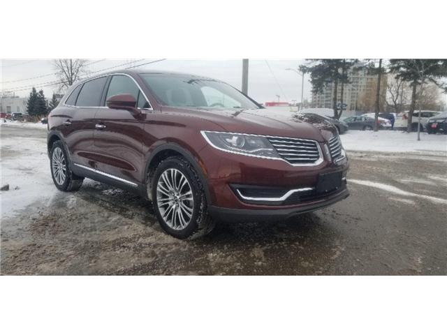 2016 Lincoln MKX Reserve (Stk: 19NS0529A) in Unionville - Image 1 of 24