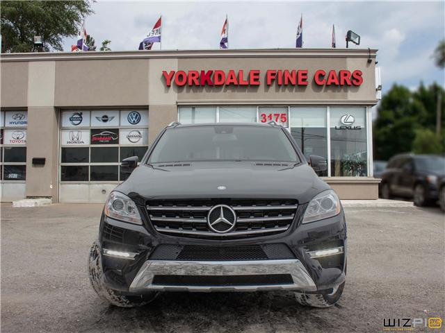2012 Mercedes-Benz M-Class  (Stk: D3279) in Toronto - Image 2 of 26