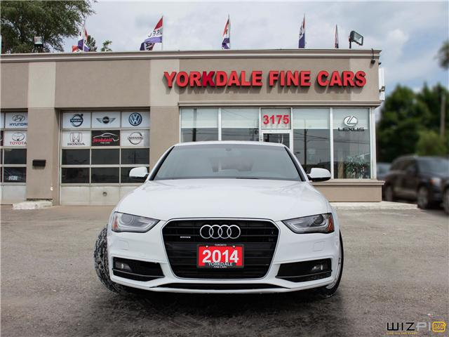 2014 Audi A4 2.0 Progressiv (Stk: D4566) in Toronto - Image 2 of 25