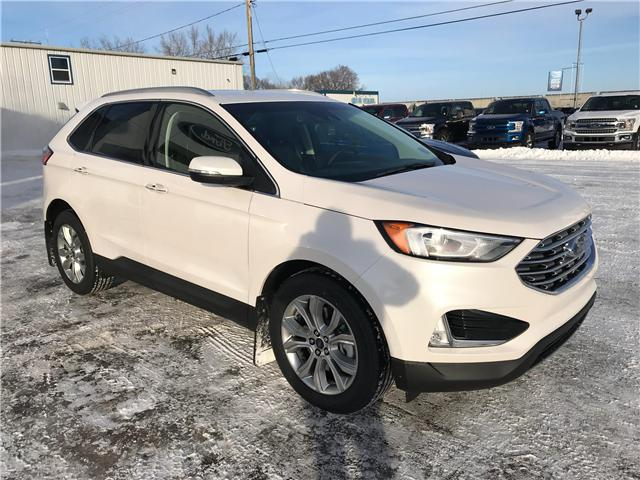 2019 Ford Edge Titanium (Stk: 9117) in Wilkie - Image 1 of 23