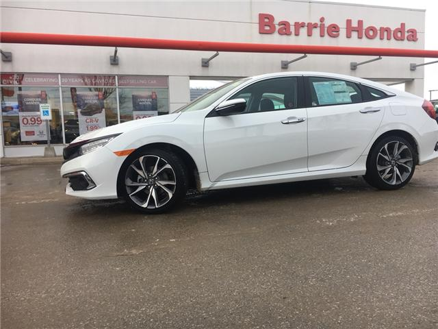2019 Honda Civic Touring (Stk: 19262) in Barrie - Image 1 of 15