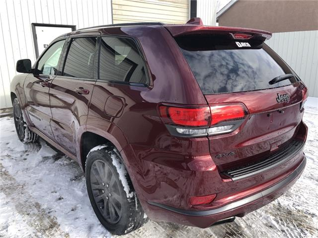 2019 Jeep Grand Cherokee Overland (Stk: 14320) in Fort Macleod - Image 3 of 24