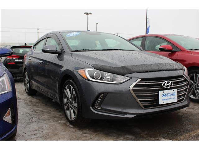 2017 Hyundai Elantra Limited (Stk: 72676) in Saint John - Image 1 of 2