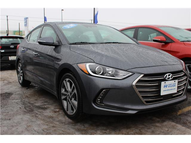 2017 Hyundai Elantra Limited Ultimate (Stk: 72613) in Saint John - Image 1 of 2