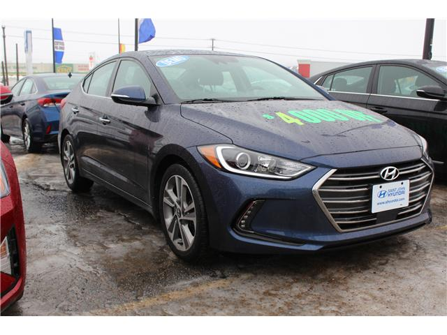 2017 Hyundai Elantra Limited SE (Stk: 72240) in Saint John - Image 1 of 2