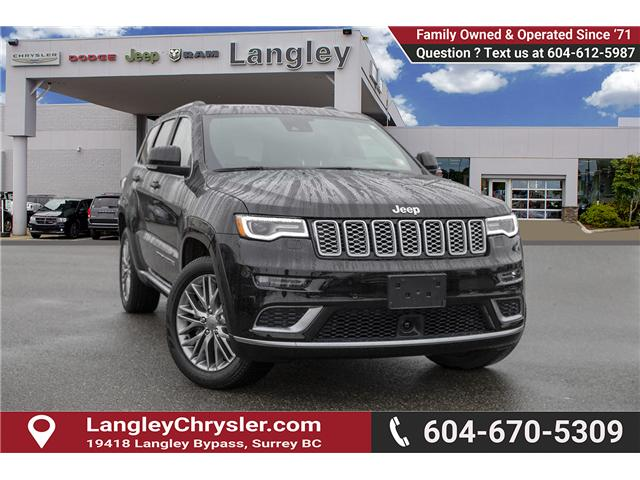 2018 Jeep Grand Cherokee Summit (Stk: EE895950) in Surrey - Image 1 of 27