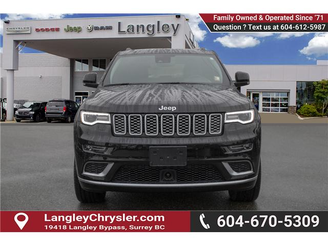 2018 Jeep Grand Cherokee Summit (Stk: EE895950) in Surrey - Image 2 of 27