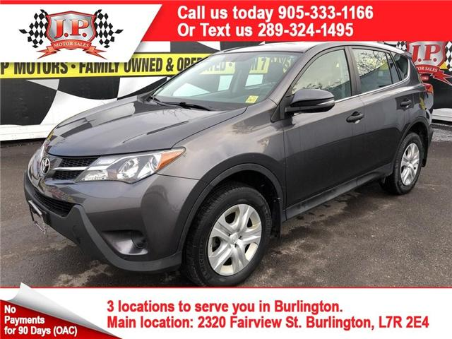 2013 Toyota RAV4 LE (Stk: 46076) in Burlington - Image 1 of 13