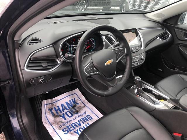 2018 Chevrolet Malibu LT TRUE NORTH NAV ROOF HTD LEATHER CLEAN  (Stk: PA17790) in BRAMPTON - Image 9 of 17