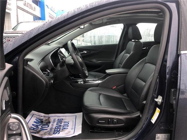 2018 Chevrolet Malibu LT TRUE NORTH NAV ROOF HTD LEATHER CLEAN  (Stk: PA17790) in BRAMPTON - Image 10 of 17
