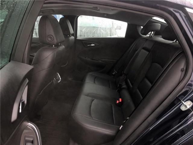 2018 Chevrolet Malibu LT TRUE NORTH NAV ROOF HTD LEATHER CLEAN  (Stk: PA17790) in BRAMPTON - Image 11 of 17