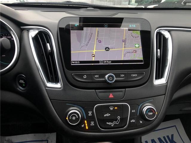 2018 Chevrolet Malibu LT TRUE NORTH NAV ROOF HTD LEATHER CLEAN  (Stk: PA17790) in BRAMPTON - Image 15 of 17