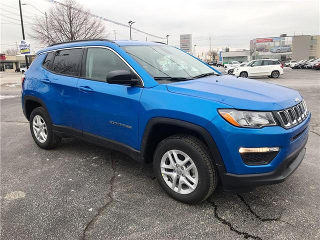 2019 Jeep Compass Sport (Stk: 19738) in Windsor - Image 1 of 11