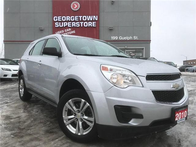 2010 Chevrolet Equinox LS | CLEAN CARFAX | ALLOYS | CRUISE | 4 CYL (Stk: DR459A) in Georgetown - Image 2 of 23
