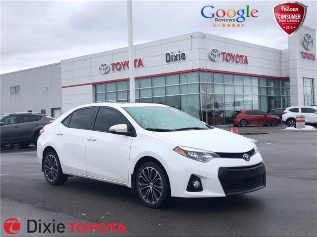 2016 Toyota Corolla S (Stk: D190697A) in Mississauga - Image 1 of 16