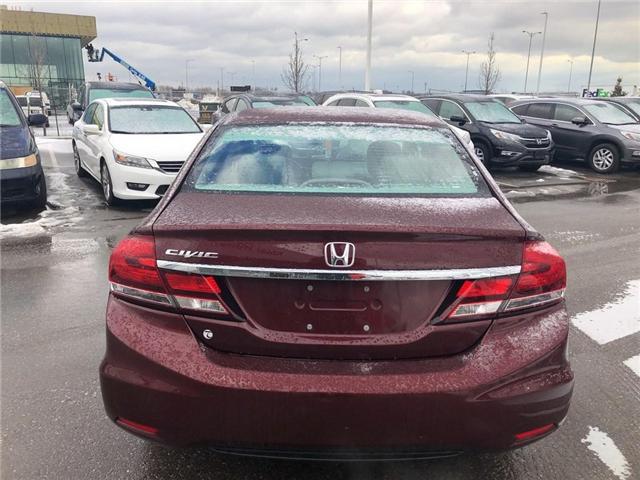 2015 Honda Civic LX (Stk: I190412A) in Mississauga - Image 3 of 8