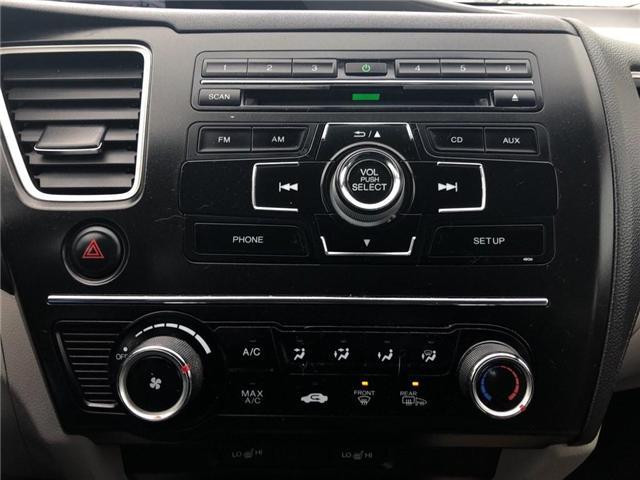 2015 Honda Civic LX (Stk: I190412A) in Mississauga - Image 8 of 8