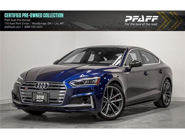 2018 Audi S5 3.0T Technik (Stk: C6467) in Vaughan - Image 1 of 21