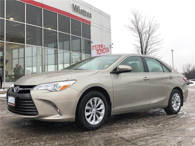 2016 Toyota Camry LE (Stk: U2273) in Vaughan - Image 1 of 19