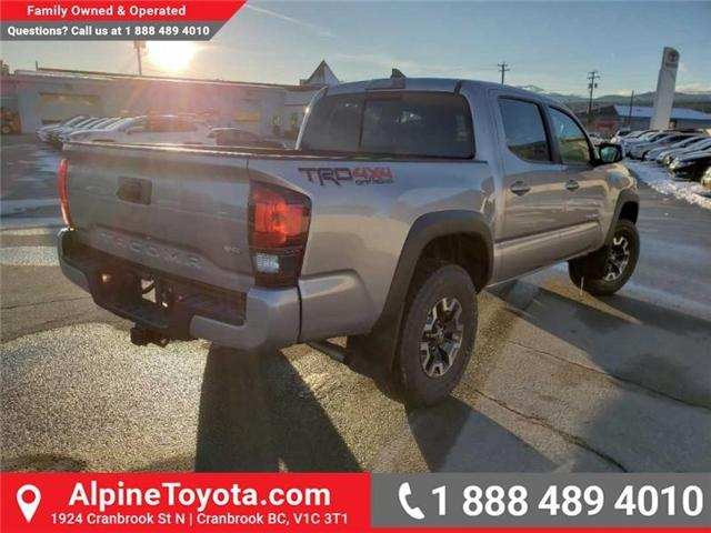 2019 Toyota Tacoma TRD Off Road (Stk: X176639) in Cranbrook - Image 5 of 14