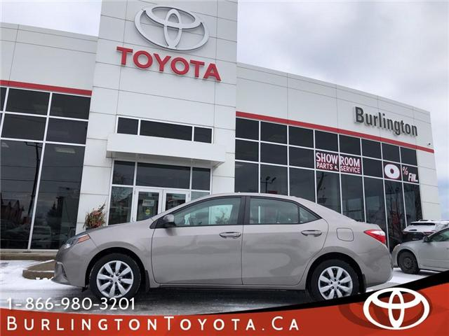 2015 Toyota Corolla  (Stk: U10542) in Burlington - Image 1 of 18