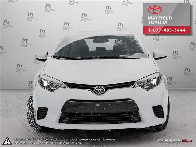 2016 Toyota Corolla LE (Stk: 192006) in Edmonton - Image 2 of 20