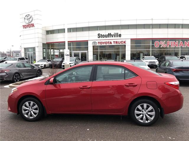2015 Toyota Corolla  (Stk: P1683) in Whitchurch-Stouffville - Image 2 of 21