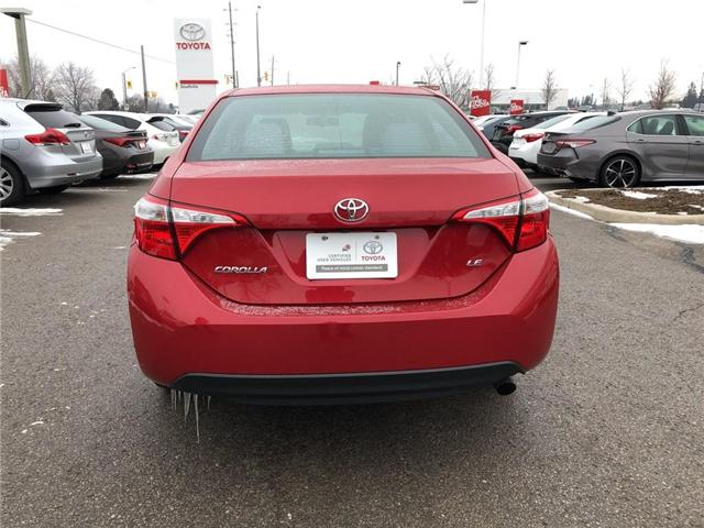 2015 Toyota Corolla LE (Stk: P1683) in Whitchurch-Stouffville - Image 4 of 21