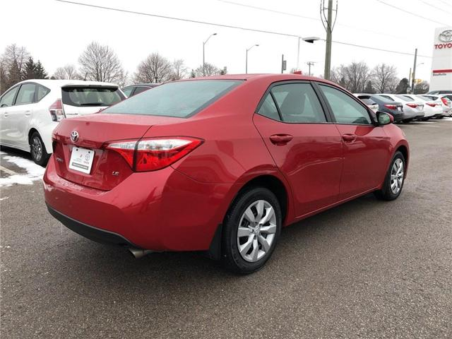 2015 Toyota Corolla LE (Stk: P1683) in Whitchurch-Stouffville - Image 5 of 21