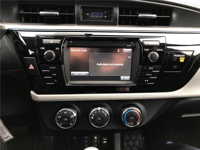 2015 Toyota Corolla LE (Stk: P1683) in Whitchurch-Stouffville - Image 15 of 21