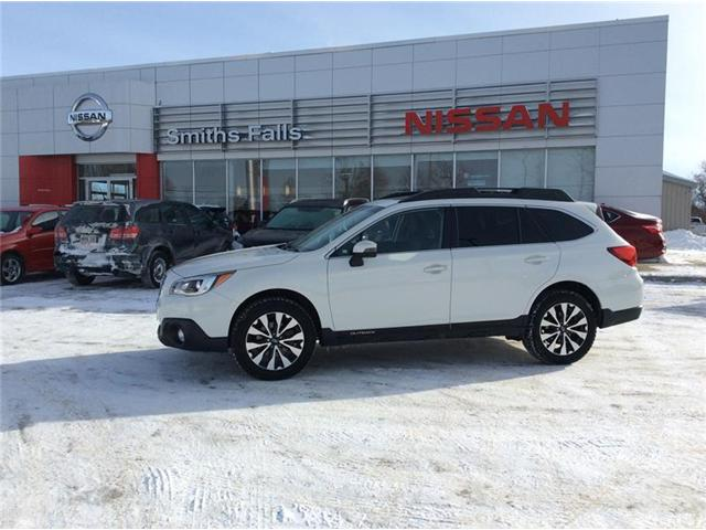 2016 Subaru Outback 2.5i Limited Package (Stk: 19-076A) in Smiths Falls - Image 1 of 13