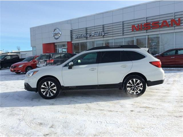 2016 Subaru Outback 2.5i Limited Package (Stk: 19-076A) in Smiths Falls - Image 2 of 13