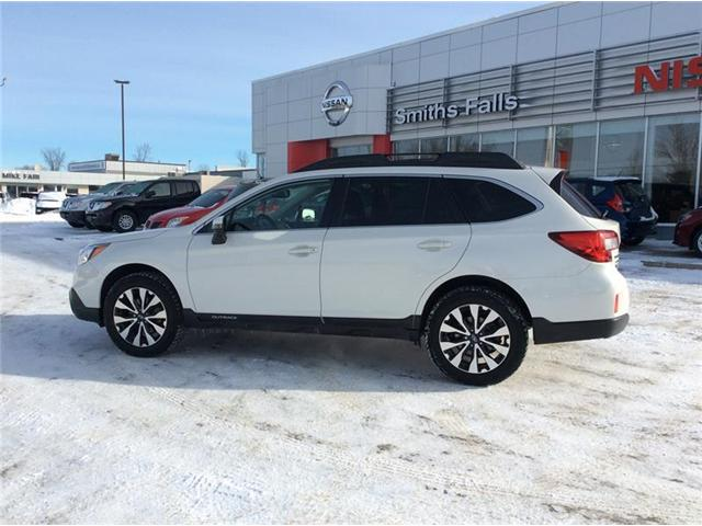 2016 Subaru Outback 2.5i Limited Package (Stk: 19-076A) in Smiths Falls - Image 3 of 13