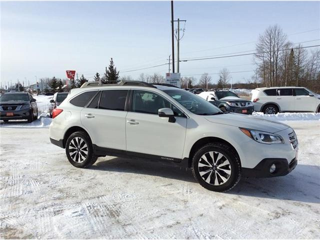2016 Subaru Outback 2.5i Limited Package (Stk: 19-076A) in Smiths Falls - Image 6 of 13