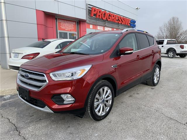 2017 Ford Escape Titanium (Stk: HUC69720) in Sarnia - Image 1 of 24