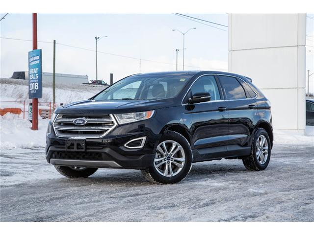 2018 Ford Edge SEL AWD-LEATHER-POWER ROOF (Stk: 946920) in Ottawa - Image 1 of 28