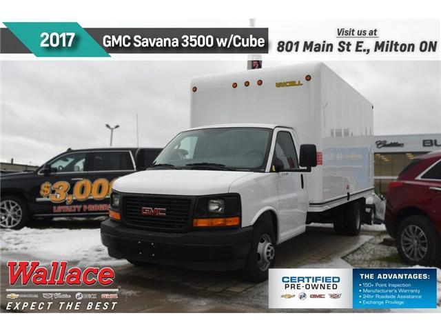 2017 GMC Savana 3500 1WT/6.0L V8/177 WB/GVWR:12,300/CLN HSTRY (Stk: PR5017) in Milton - Image 1 of 17