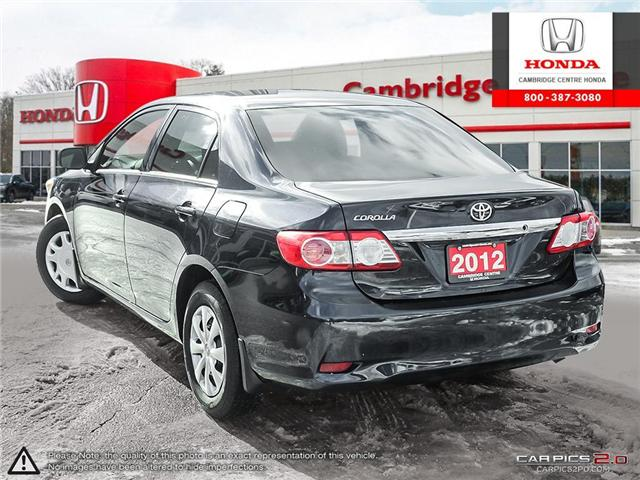 2012 Toyota Corolla S (Stk: 19300A) in Cambridge - Image 4 of 27