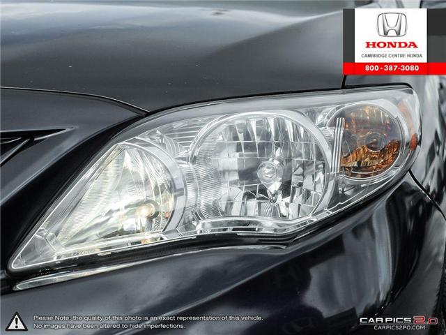2012 Toyota Corolla S (Stk: 19300A) in Cambridge - Image 10 of 27