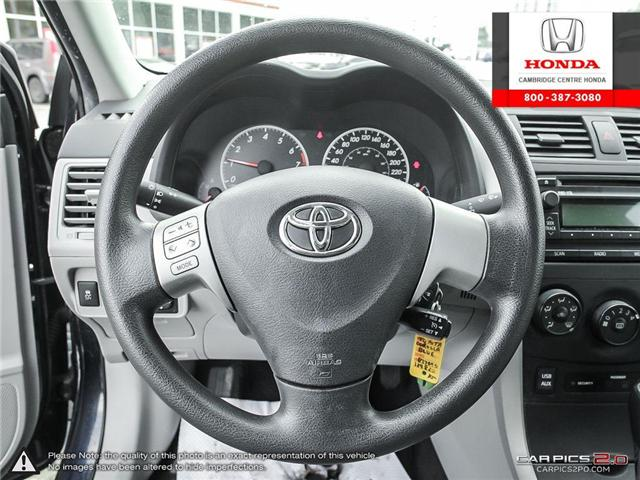 2012 Toyota Corolla S (Stk: 19300A) in Cambridge - Image 14 of 27