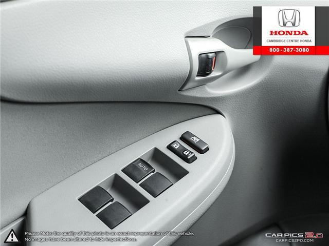 2012 Toyota Corolla S (Stk: 19300A) in Cambridge - Image 17 of 27