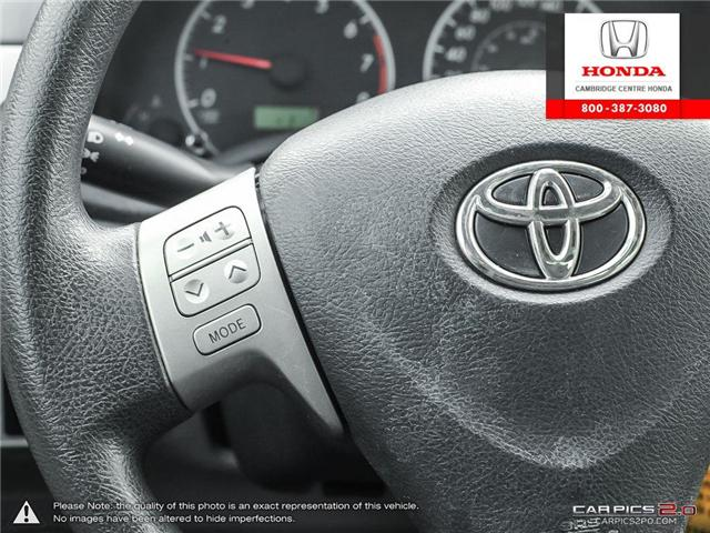 2012 Toyota Corolla S (Stk: 19300A) in Cambridge - Image 18 of 27