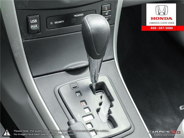 2012 Toyota Corolla S (Stk: 19300A) in Cambridge - Image 19 of 27