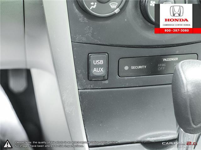2012 Toyota Corolla S (Stk: 19300A) in Cambridge - Image 27 of 27