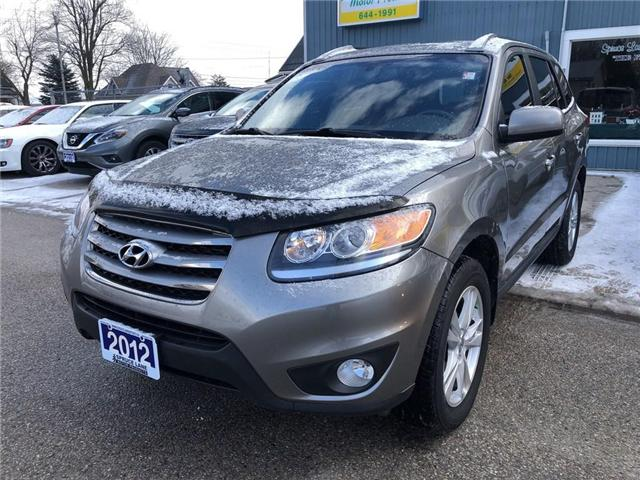 2012 Hyundai Santa Fe Limited (Stk: 5XYZHD) in Belmont - Image 2 of 18