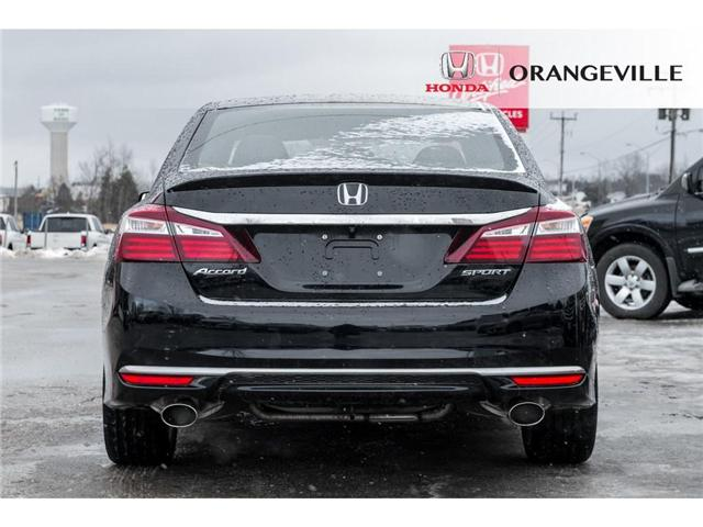 2016 Honda Accord Sport (Stk: C19018A) in Orangeville - Image 6 of 20